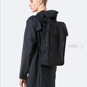 RAINS Classic Waterproof Unisex Backpack black
